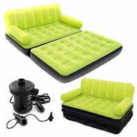 Надувной диван-кроватиь