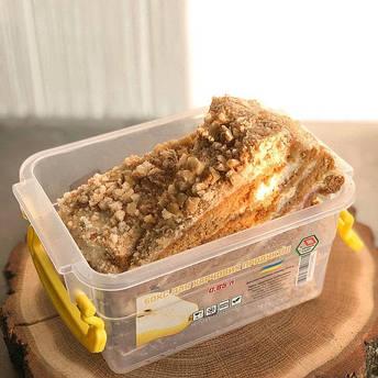 Контейнер для еды Народный продукт 0.85 л с ручками , фото 2