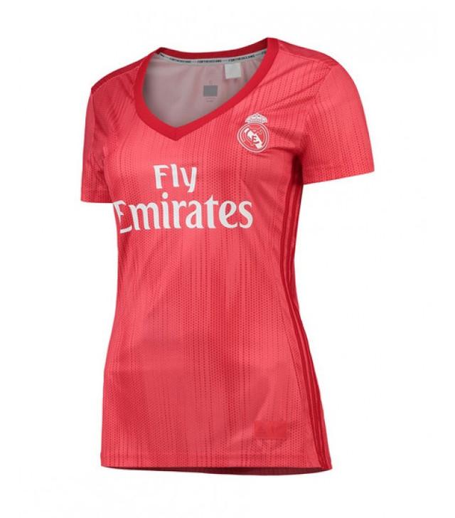 Женская футболка Реал