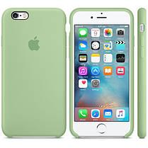 Накладка Silicone Case orig iPhone XR  - 1 салатовый