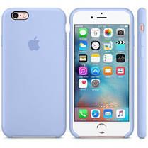 Накладка Silicone Case orig iPhone XR  - 5 бледно-синий