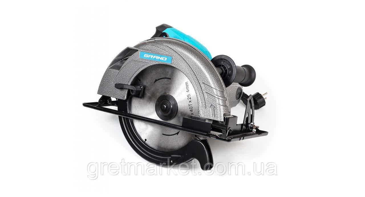 Дисковая пила GRAND ПД-235-2500