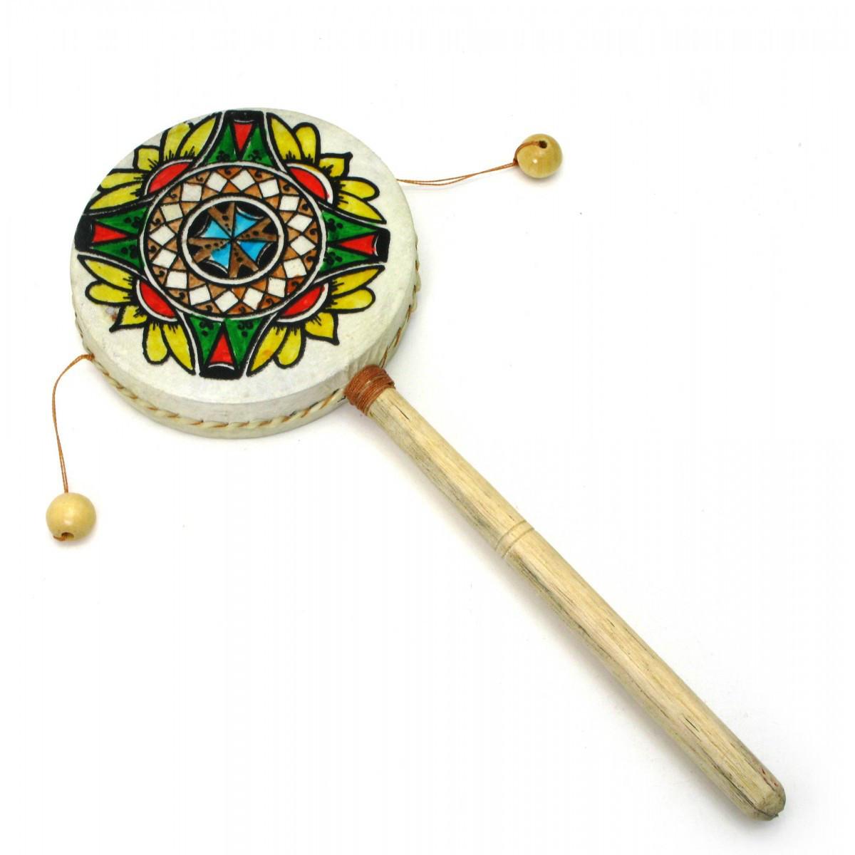 Барабан трещетка (30,5х11,5х11,5 см) ( 29691)