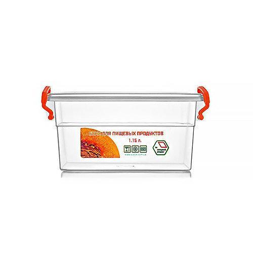 Контейнер для еды  Народный продукт объём 1.15 л с ручками
