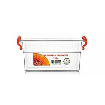 Контейнер для еды  Народный продукт объём 1.15 л с ручками , фото 2