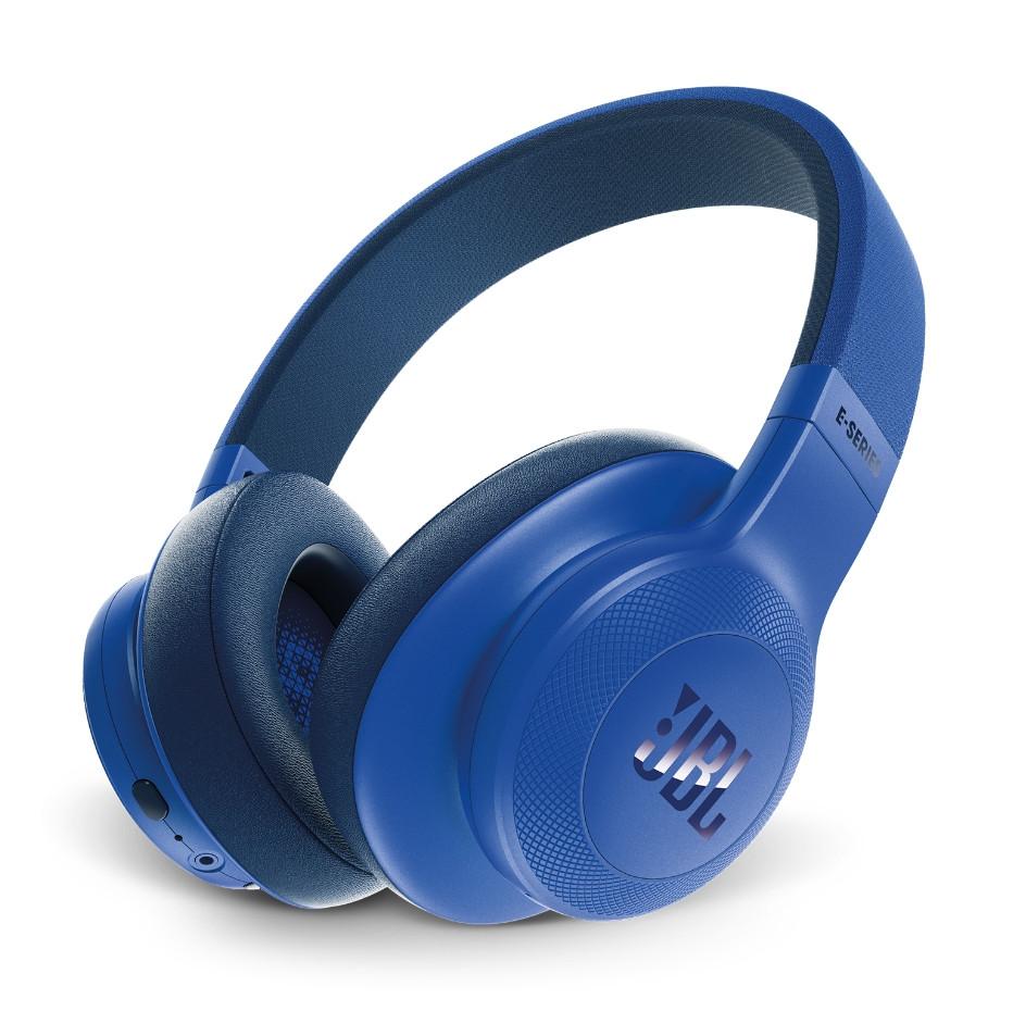Наушники JBL E65 Bluetooth с активным шумоподавлением Blue