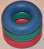 Еспандер бублик ОБ-005 середній з кольорової гуми