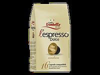 Кофе капсулы Caffe Trombetta L espresso Dolce Arabica Италия (упаковка 16 шт.)