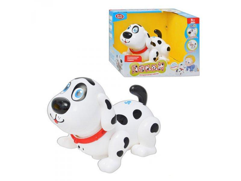 Детская интерактивная игрушка Собачка Лакки (7110)