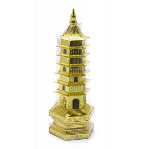 Пагода металл (17,5х6х6 см) ( 28816)