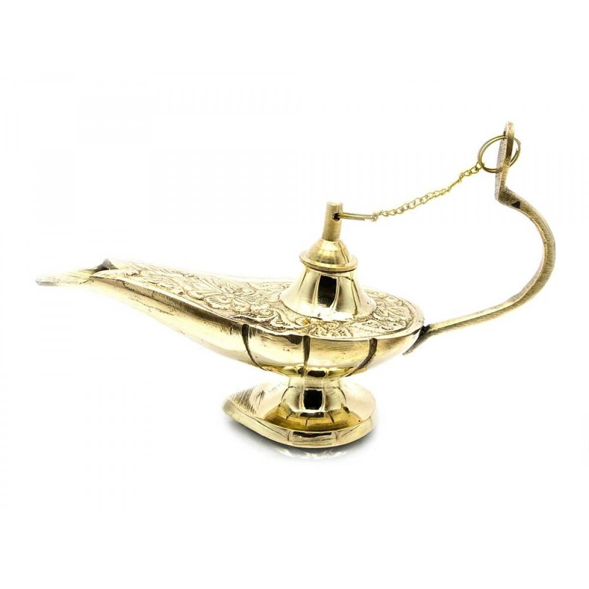 """Лампа Алладина бронзовая (16,5х9,5х5,5 см)(5"""") ( 23508)"""