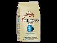 Кофе капсулы Caffe Trombetta L espresso Dolce Decaffeinato Италия (упаковка 16 шт.)