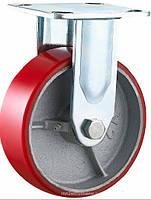 Неповоротное диаметр 100 мм чугун/полиуретан шариковый подшипник нагрузка 240 кг