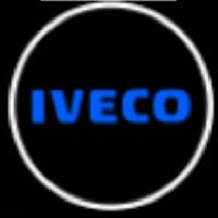 Подсветка логотипа авто на двери IVECO
