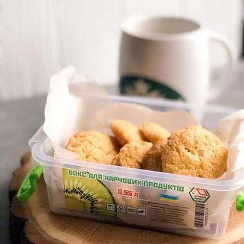 Контейнер для еды  Народный продукт объём 3.5 л с ручками, фото 2