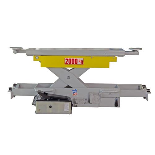 Траверса на яму пневмо-гидравлическая 2000 кг RAVAGLIOLI J20PNX