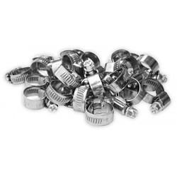 Хомут нержавеющая сталь 12,7 мм D 52-76 мм