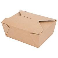 Контейнер бумажный 15х12х6,25 см., 300 шт/уп крафтовый BIOPACK