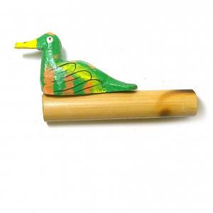 "Музыкальный инструмент ""Крякающая утка"" зеленая (11х5,5х2 см) ( 29610B)"