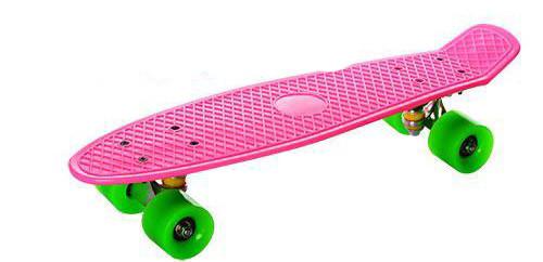 Детский скейт MS 0848-1 Пенни, 55,5х14,5 см, фото 1