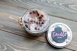 Свеча Кофейная ароматизированная в стеклянной банке