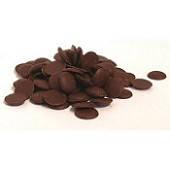 Черная шоколадная глазурь для тортов и десертов монетки