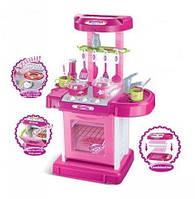 Детская игровая кухня Kitchen Set 008-56 (со световыми и звуковыми эффектами) Складывается в чемоданчик