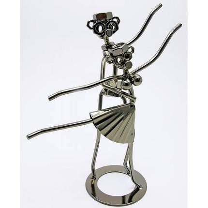 """Техно-арт """"Балет"""" металл (22,5х16,5х8 см) ( 19237), фото 2"""