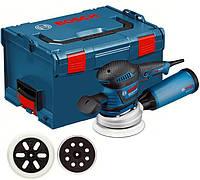 Эксцентрированная шлифовальная машинка 400W GEX 125-150 AVE BOSCH