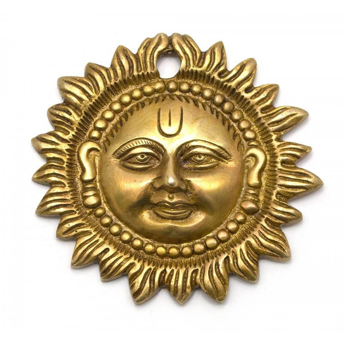 Солнце бронза (d- 9,5 см) ( 25913)