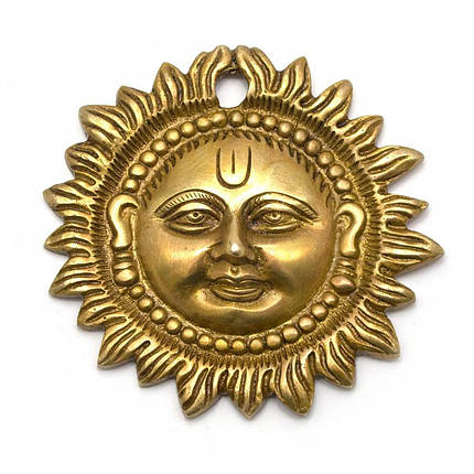 Солнце бронза (d- 9,5 см) ( 25913), фото 2