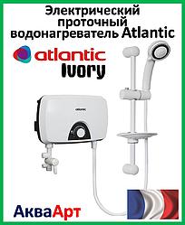 Безнапорный проточный бойлер Atlantic Ivory IV202 5.5 kW (стойка/лейка/шланг)