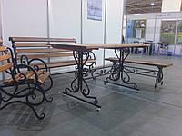 Кованый стол 150см. х 70 см.