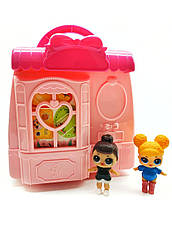 Игровой набор Лол сумочка-трансформер / Лол дом / Lol  fashion bags / аналог, фото 2