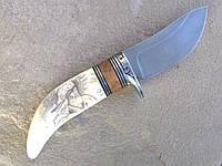 """Авторский нож ручной работы """"Trapper"""""""