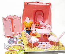 Игровой набор Лол сумочка-трансформер / Лол дом / Lol  fashion bags / аналог, фото 3