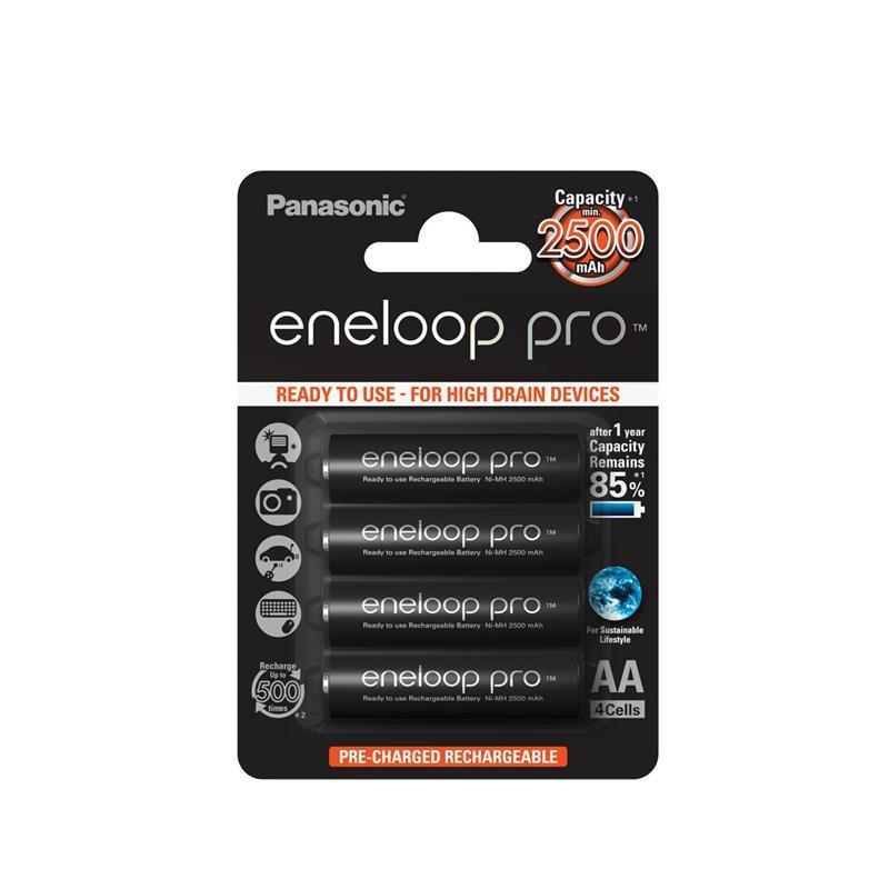 Аккумулятор Panasonic Eneloop Pro AA 2500 mAh 4BP