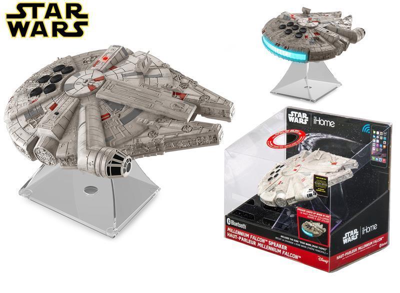 Акустическая система eKids/iHome Disney, Star Wars, Millenium Falcon, Wireless