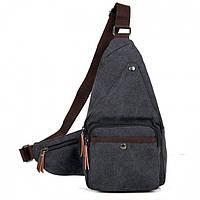 Мужской мессенджер-рюкзак через плечо Bego арт. 1032bl