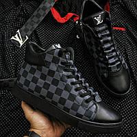 Мужские Ботинки Louis Vuitton Special Black Edition  реплика