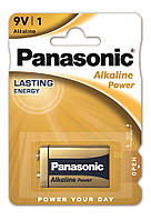 Батарейка Panasonic ALKALINE POWER 6LR61 BLI 1 ALKALINE