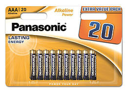 Батарейка Panasonic ALKALINE POWER AAA BLI 20