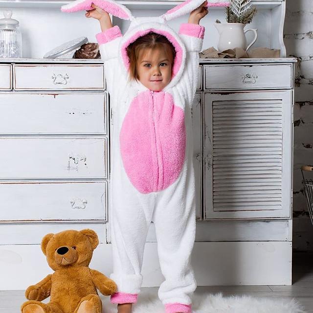 a57f703cc832 Теплая пижама Кигуруми для девочки 6-10-14 лет - Интернет магазин PARMA в