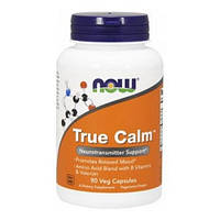 NOW Активное долголетие True Calm Amino Relaxer (90 veg caps)