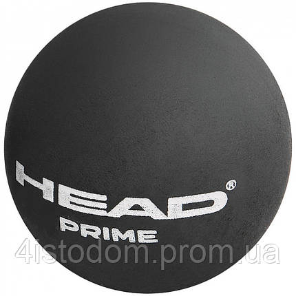 Мяч для сквоша Head Prime Squash Ball Black , фото 2
