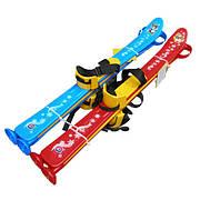 Лыжи детские Технок 3350 красные