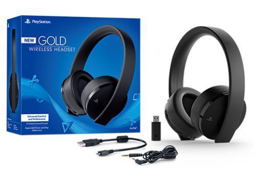 Гарнитура PlayStation Wireless Headset Gold