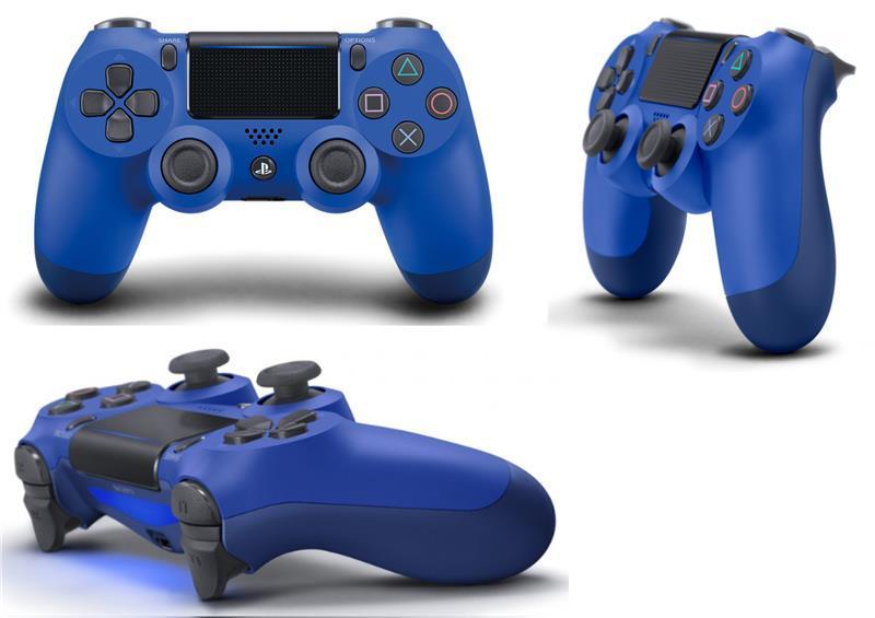 Геймпад беспроводной PlayStation Dualshock v2 Wave Blue