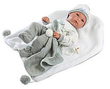 Кукла Llorens 63545 Младенец Пипо 35 см с одеялом