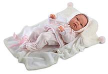 Кукла Llorens 73850 Младенец Ника с одеялом 40 см